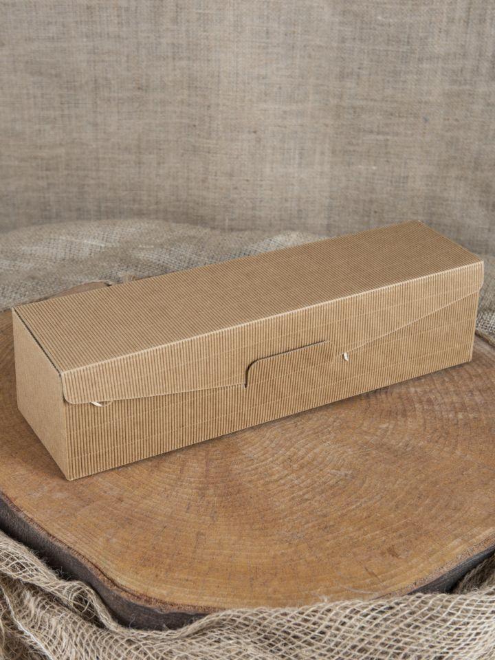 Geschenkbox mit Holzwolle lang 2