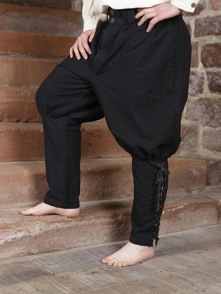 Wikingerhose in schwarz 2