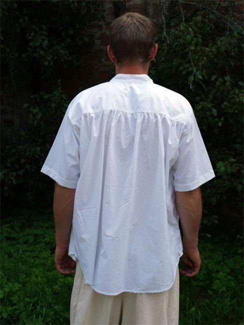 Mittelalterhemd Kurzarm 2