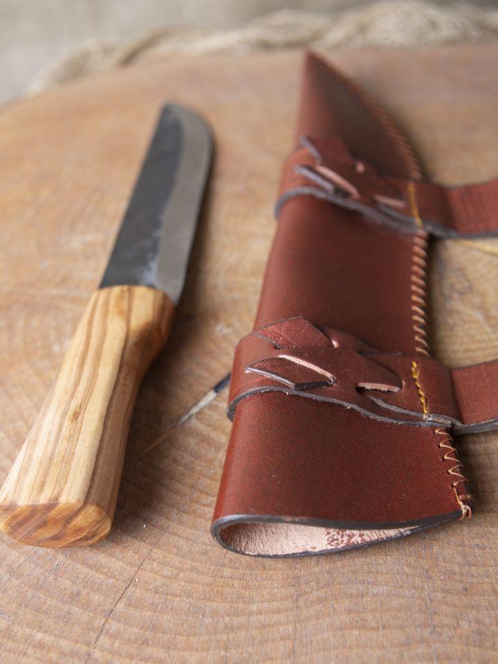 Saxmesser mit Scheide 2