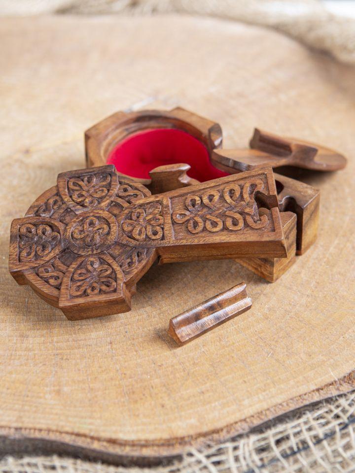 Holzdose Keltisches Kreuz 2