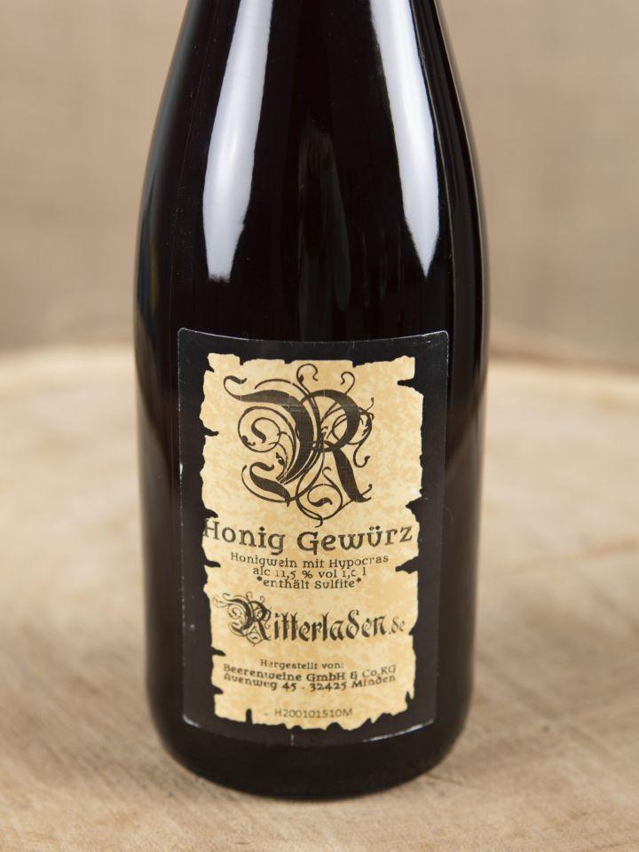 Honig-Gewürz-Wein 1 l 2
