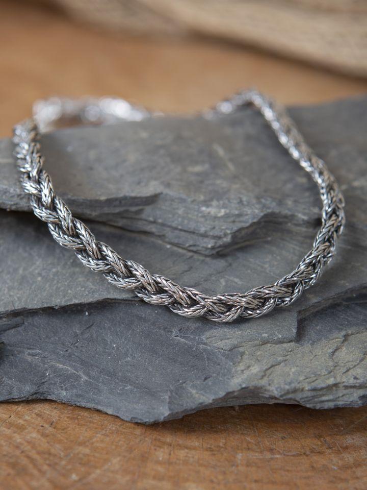 Schwere Wikinger-Halskette 50 cm 2