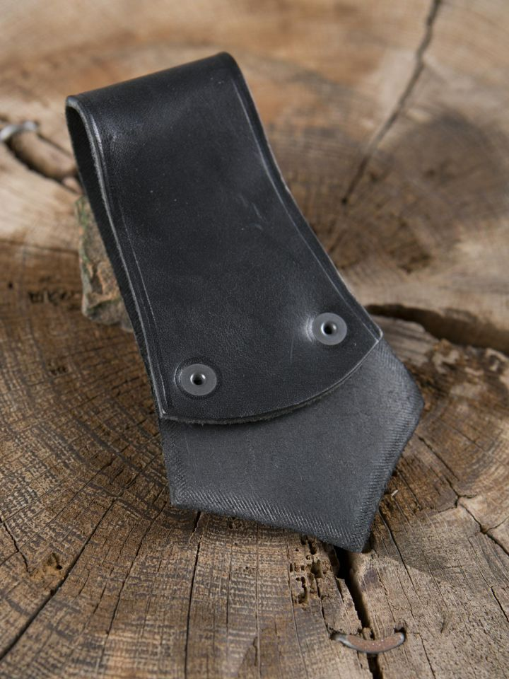 Axthalter mit Ring schwarz 2
