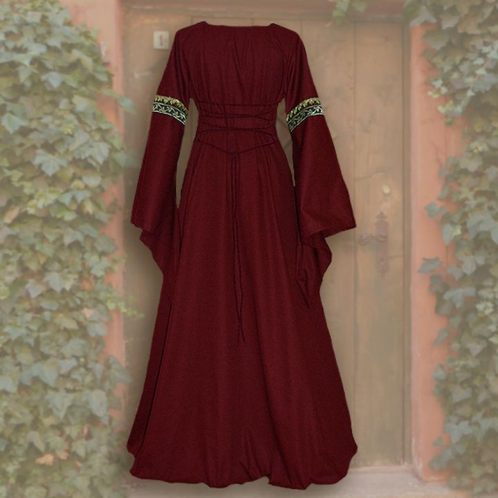 Kleid Iris rot-sand 2