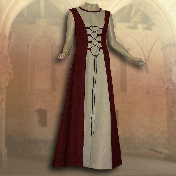 2-teiliges Gewand Isabella rot 2