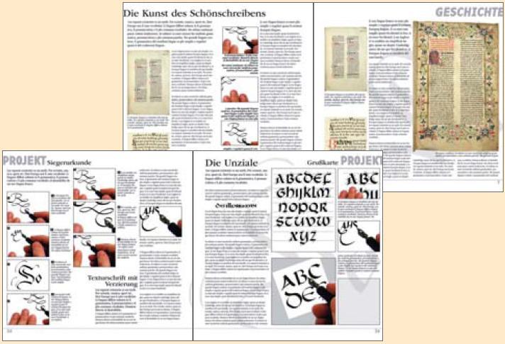 Kalligraphie - Schreiben als Kunst 2