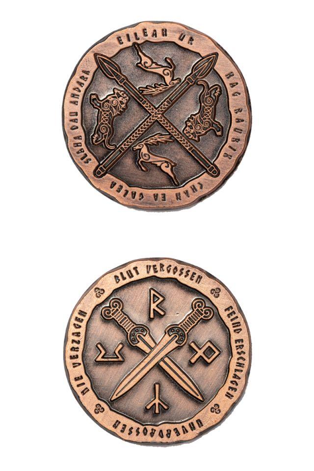 LARP-Münzen Kelten 2