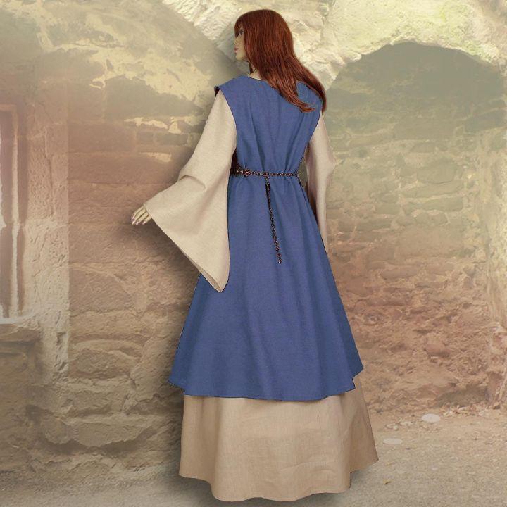 Zweiteiliges Gewand Kriemhild hellblau 2