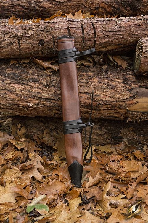 Schwertscheide für Larpschwerter large | schwarz 2