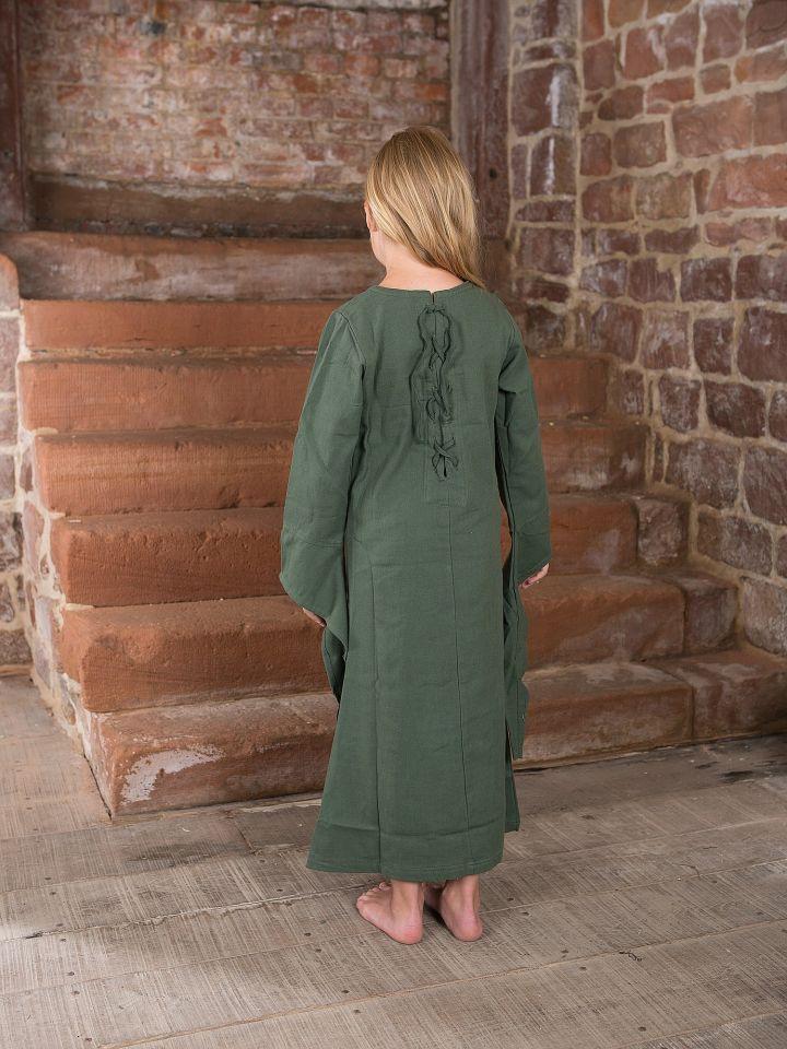 Kinderkleid aus Baumwolle 2
