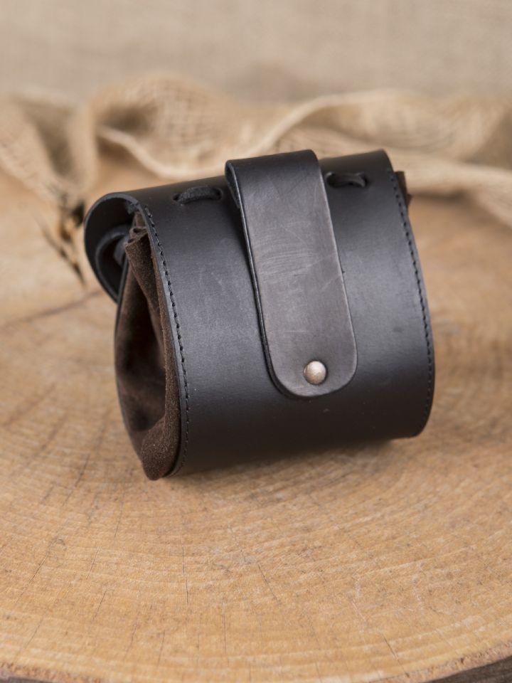 Gürtelbeutel dunkelbraun-schwarz 2