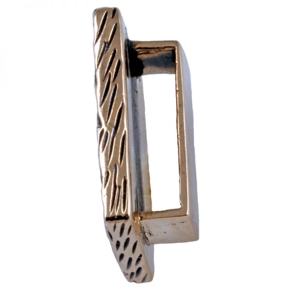 Rune HAGALAZ aus Bronze 2