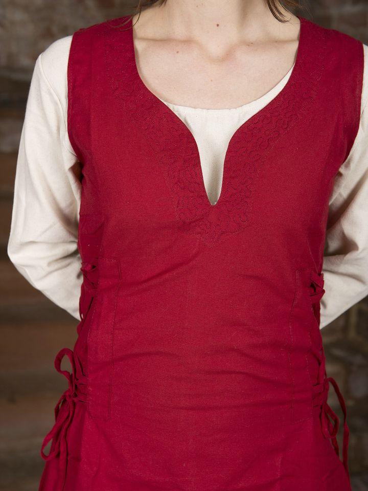 Überkleid Lannion rot 2