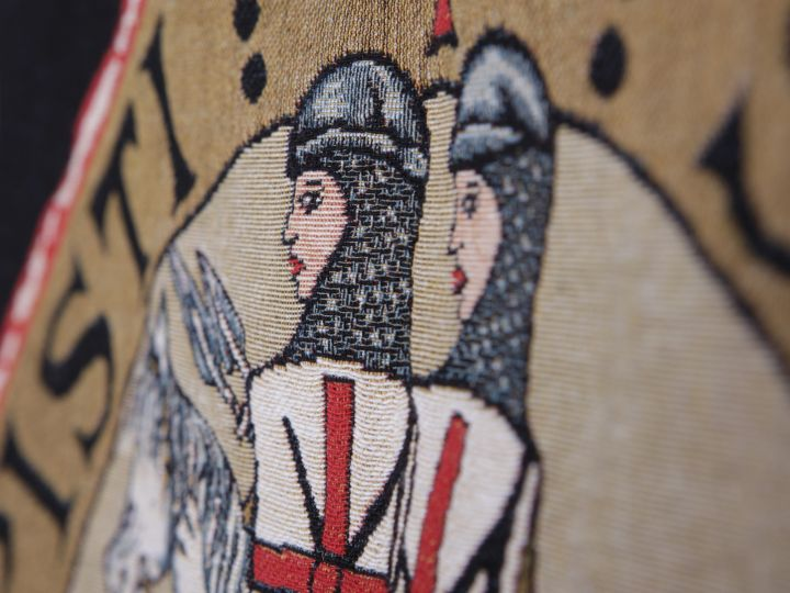 Wandteppich - Siegel der Templer 2