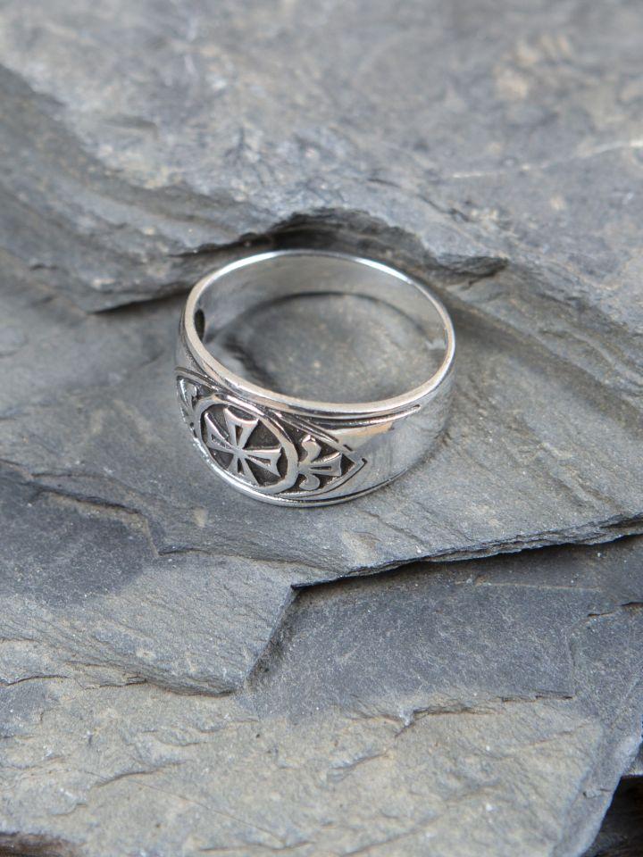 """Ring """"Templerkreuz"""" 2"""