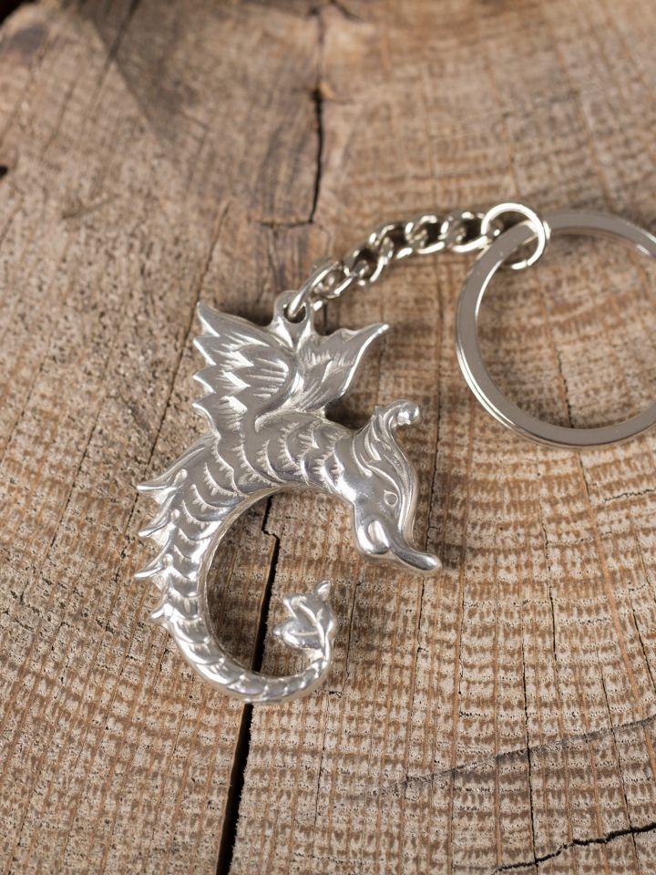 "Schlüsselanhänger ""Keltischer Drache"" 2"