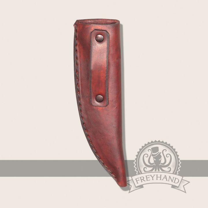 Lederscheide für LARP-Messer 2