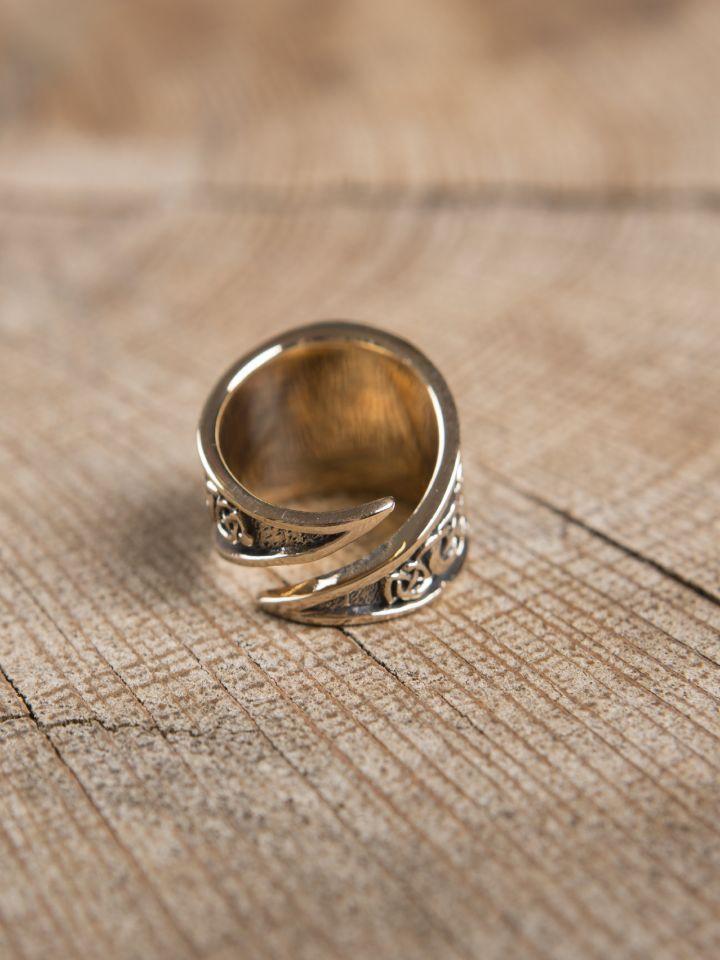 Keltischer Ring aus Bronze klein 2