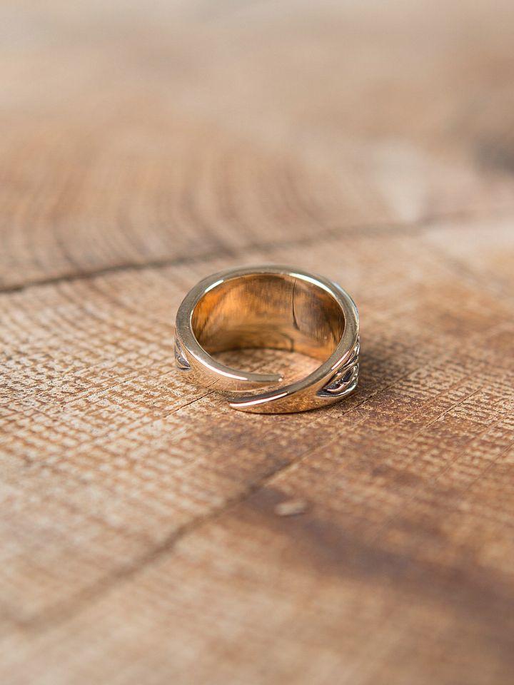 Ring mit Triskele klein | Silber 2