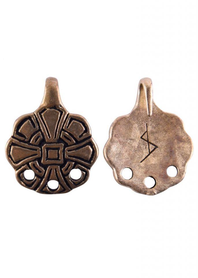 Wadenwickel-Haken aus Bronze 2