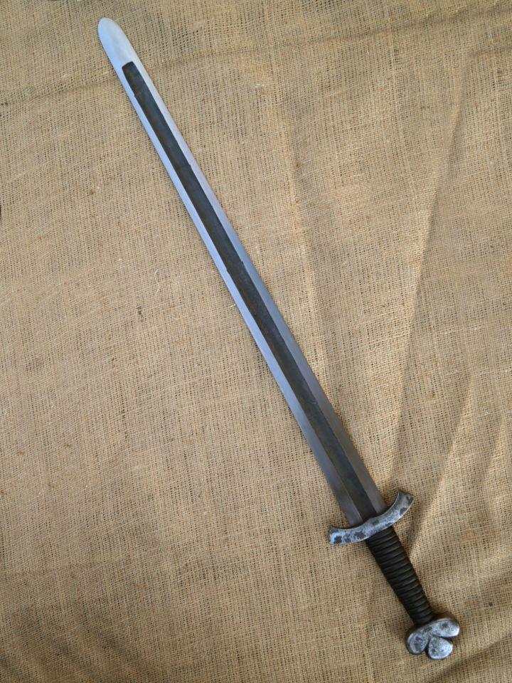 Wikingerschwert mit breiter Hohlkehle SK-A 2