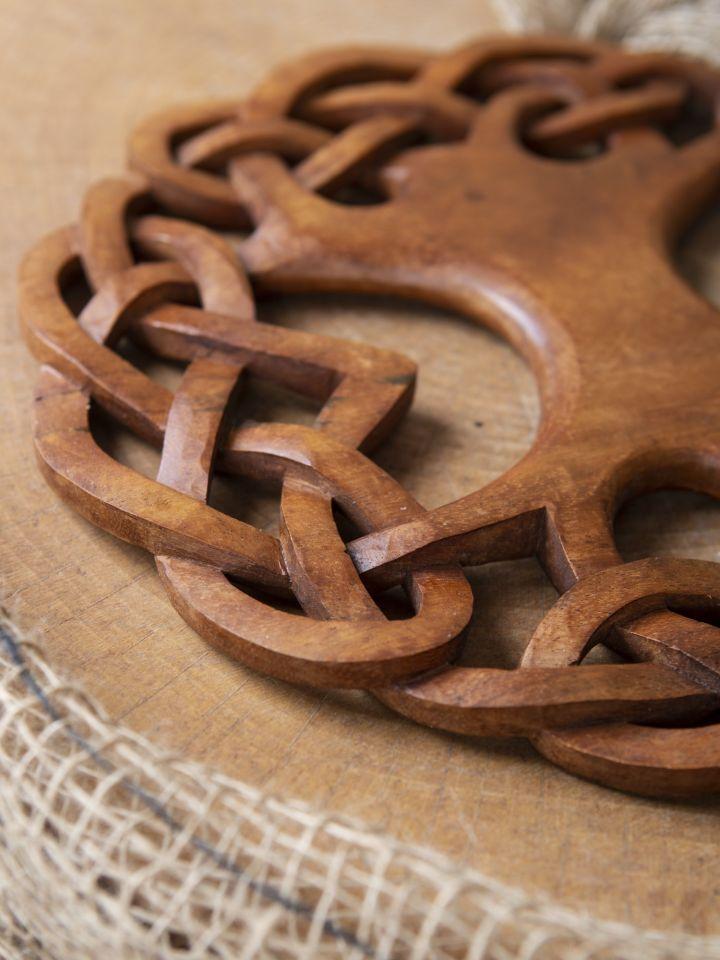 Holz-Wandschmuck Keltischer Lebensbaum 2