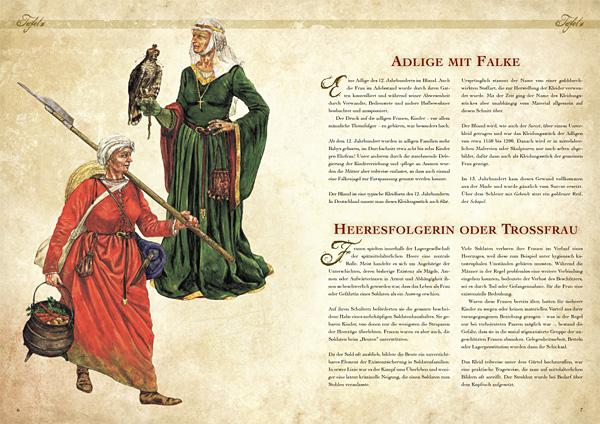 Kleidung des Mittelalters selbst anfertigen - Grundausstattung für die Frau 2