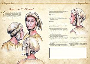 Kleidung des Mittelalters selbst anfertigen - Kopfbedeckungen für Mann und Frau 2