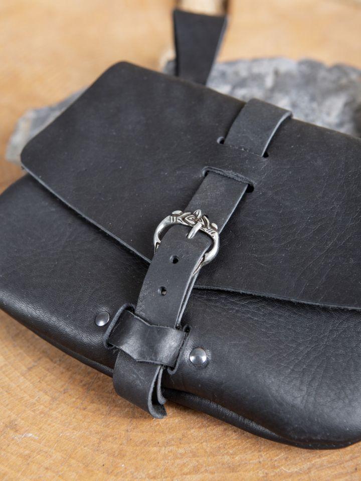 Frühmittelaltertasche schwarz 3