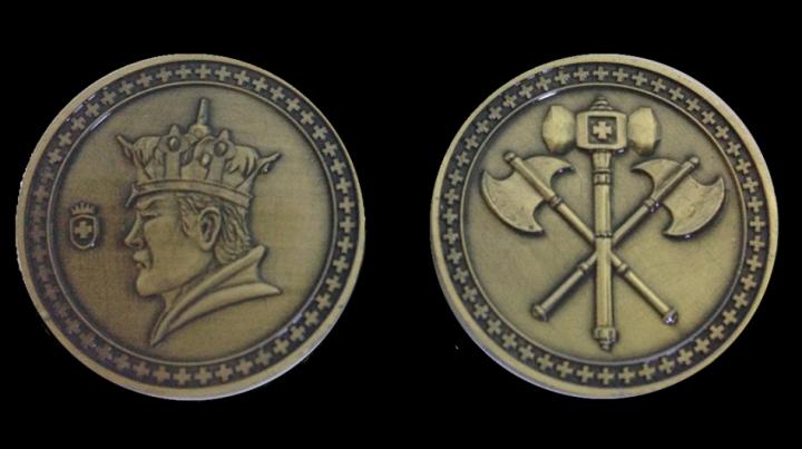 LARP-Münzen König 3