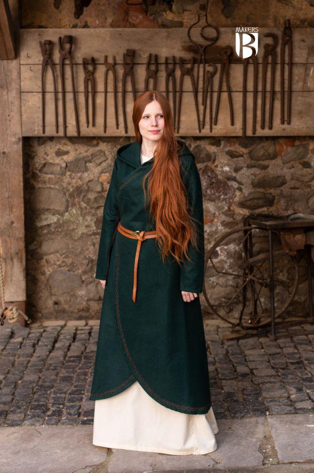 Mantel Enya grün 3