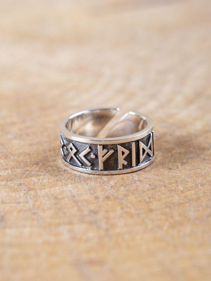 Runenring, aus 925er Sterlingsilber groß 3