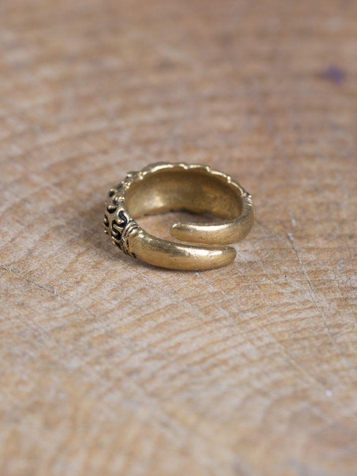 """Wikinger-Ring """"Falster"""" bronze 3"""