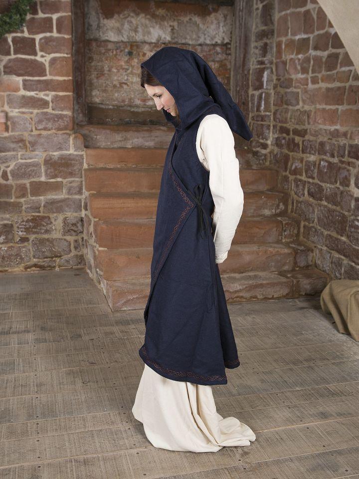 Wickelkleid Dala aus Wollfilz blau 3