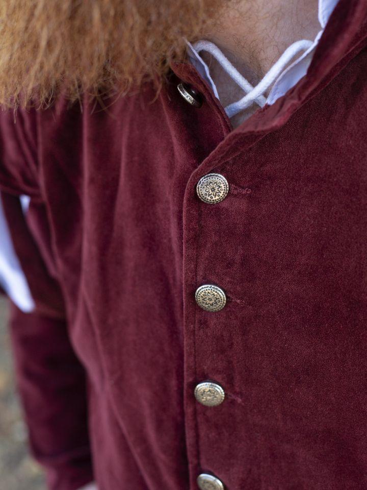Jacke für den edlen Herren rot 3