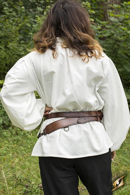 Schwertgürtel für LARP-Schwerter braun 3
