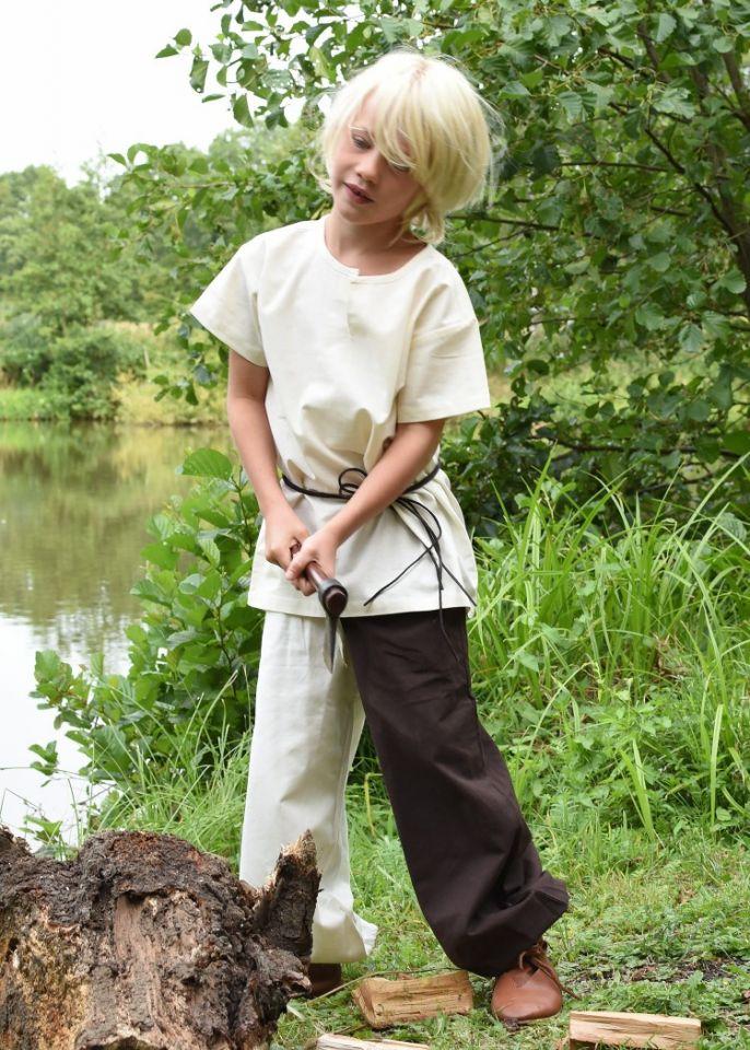 Kindertunika kurzarm natur 3