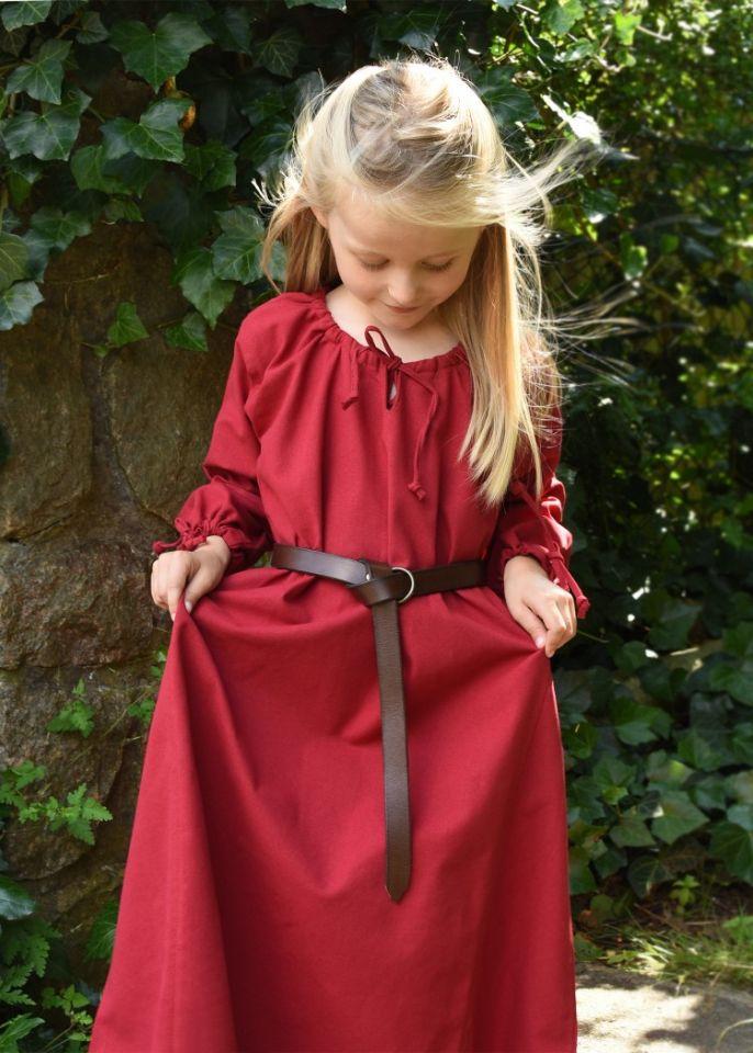 Kinder-Unterkleid Mara rot 3