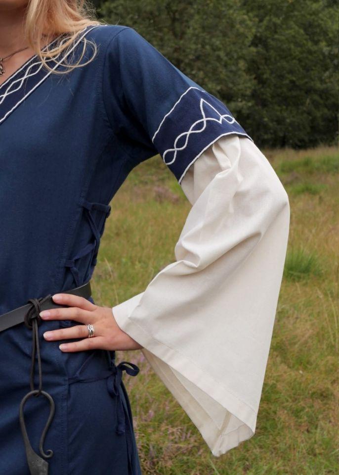 Kleid Agatha blau 3