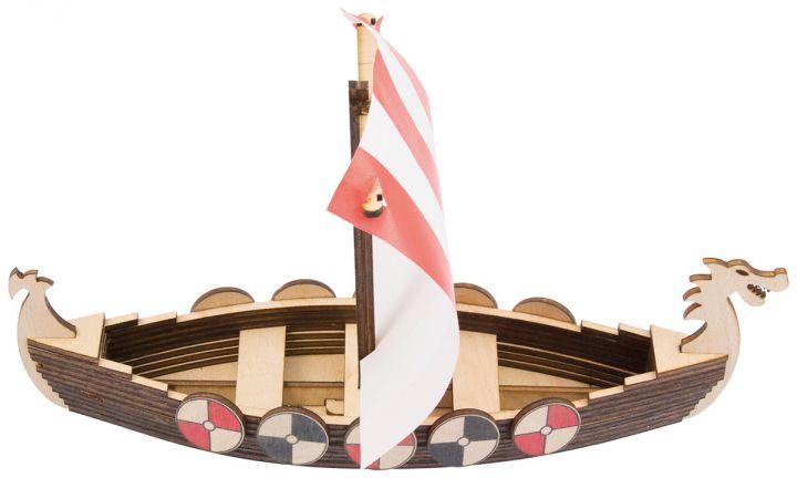 Wikingerschiff Bausatz 3