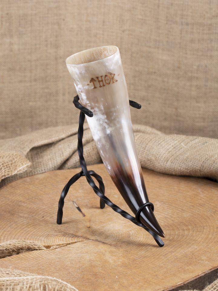 Trinkhorn mit individueller Gravur 3