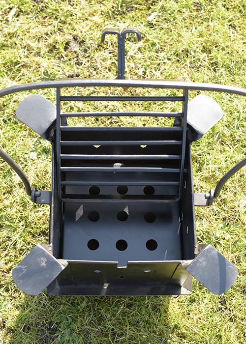 Tragbare Koch- und Feuerstelle 3