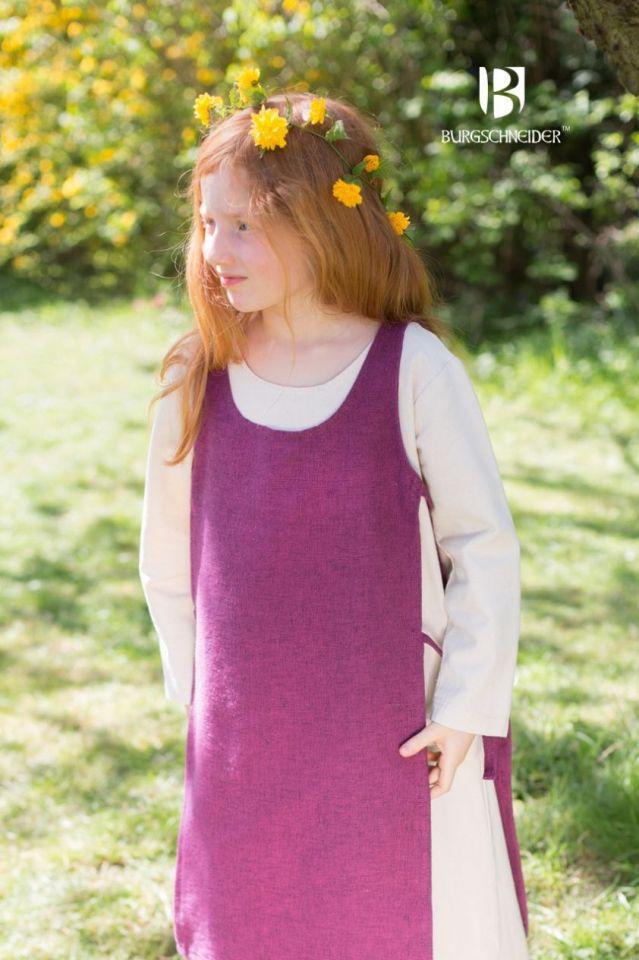 Kinderüberkleid Ylva flieder 104 3