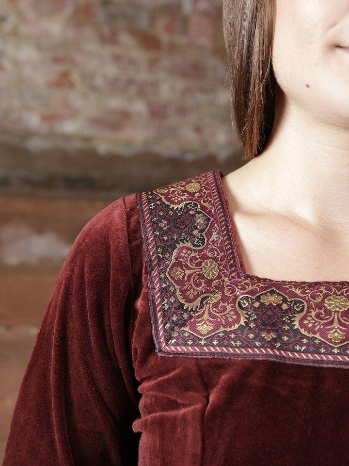 Kleid Burgund 3