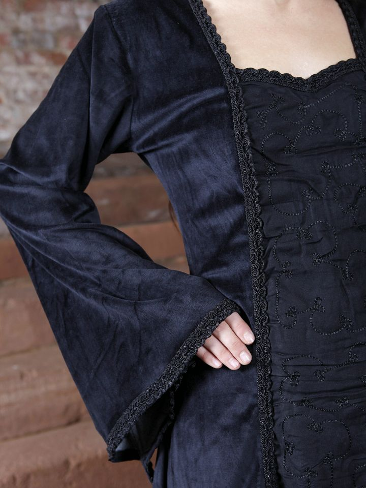 Kleid aus Samt 3