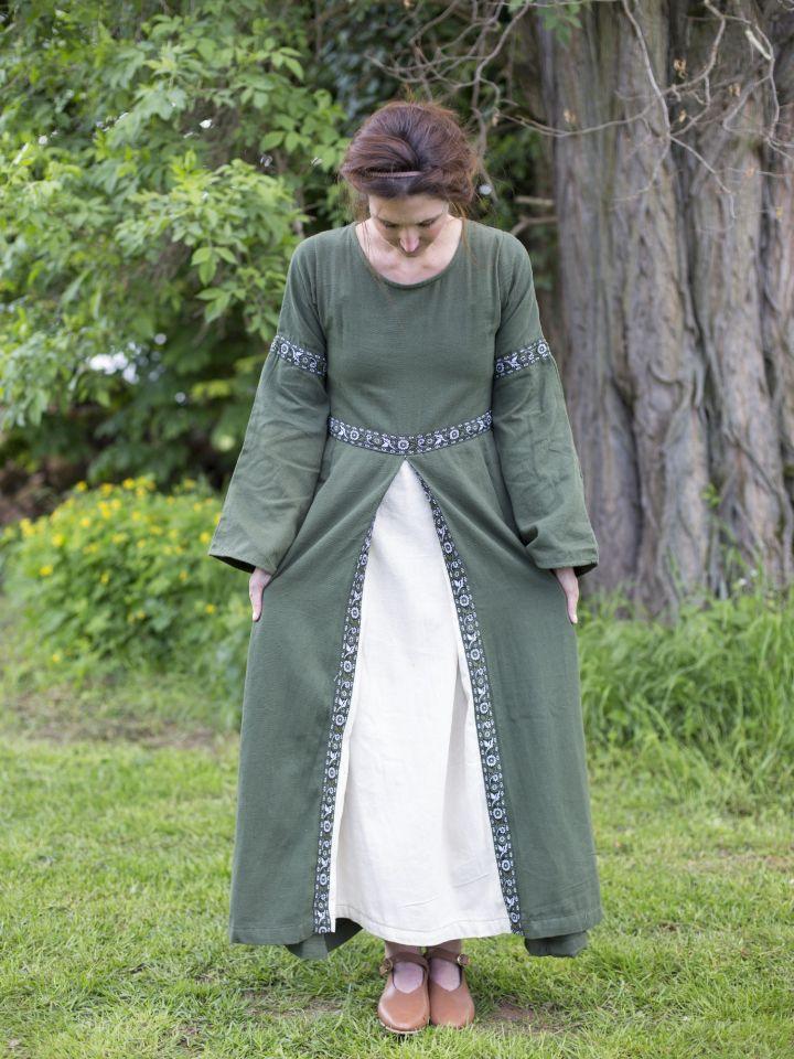 Herbstkleid in waldgrün 3