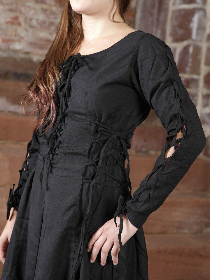 Kleid mit seitlicher Schnürung 3
