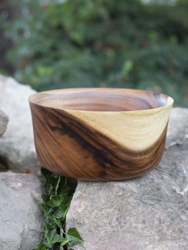 Holzschüssel aus Akazienholz 3