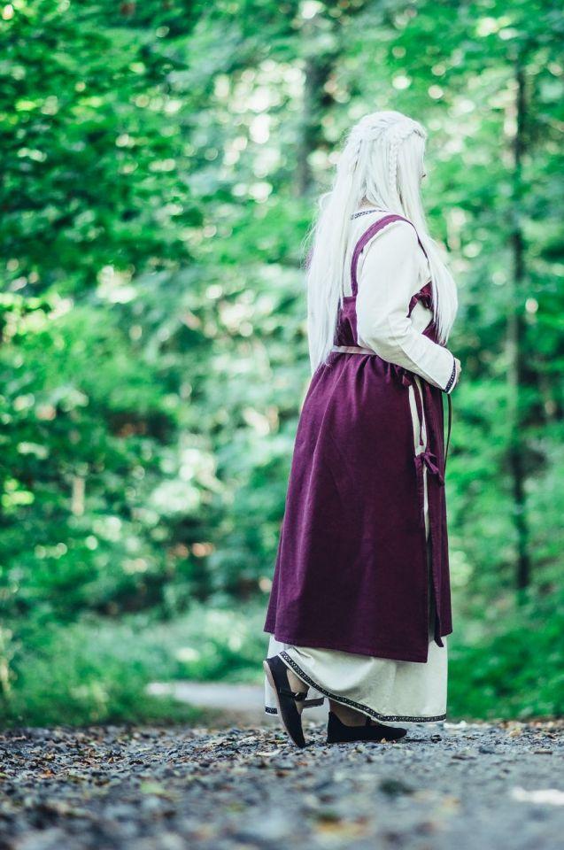 Überkleid Wikinger rot 3